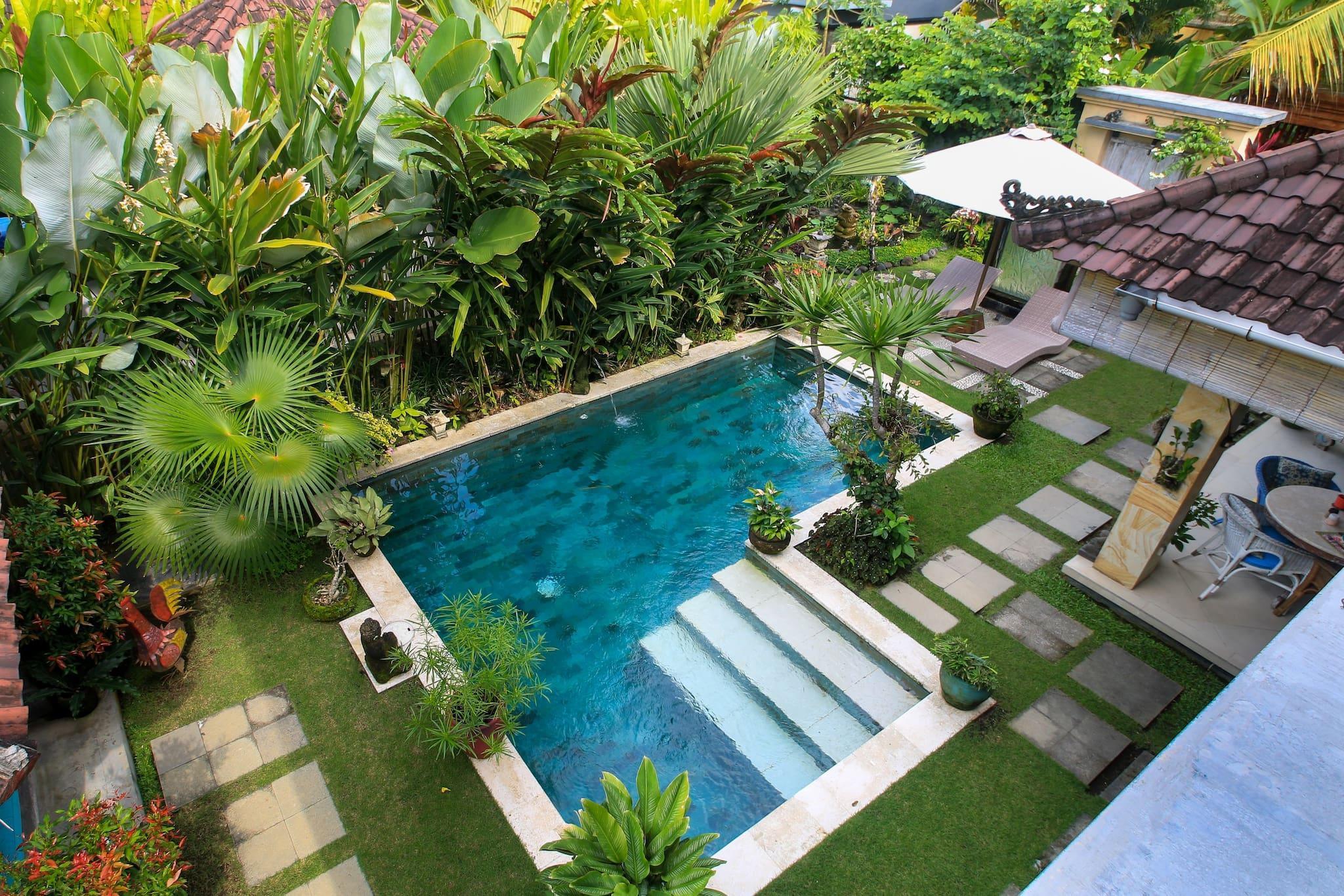 Vss Ubud Villa pool ac best Breakfast In Bali