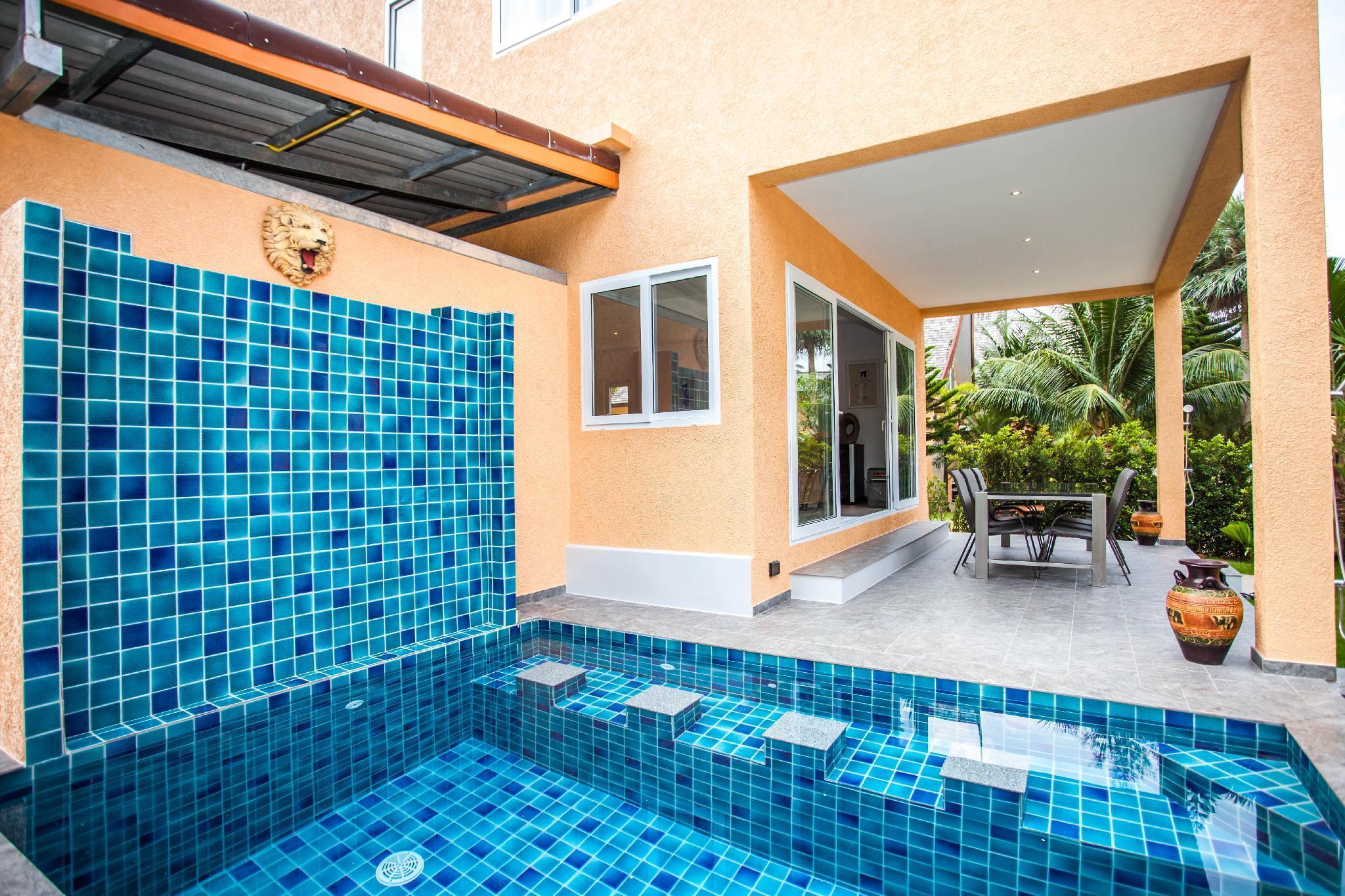 Blue Lion 5BR Villa Private Pool Koh Chang วิลลา 5 ห้องนอน 5 ห้องน้ำส่วนตัว ขนาด 200 ตร.ม. – คลองสน