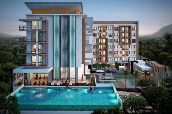 Green Home 1br Terrace, Pool, Gym Near Nice Beach Phuket