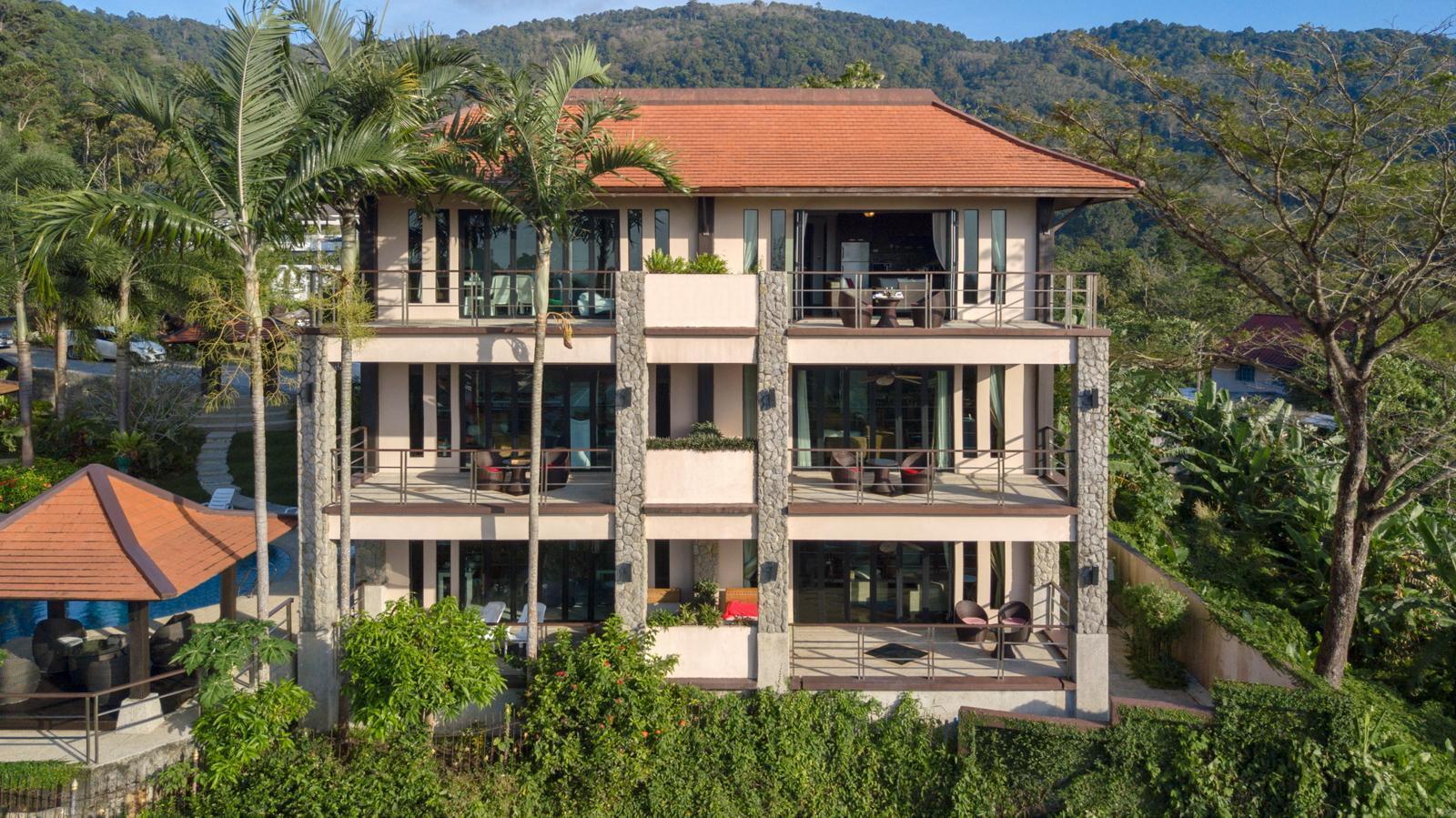 Kamala Villa Hill อพาร์ตเมนต์ 2 ห้องนอน 2 ห้องน้ำส่วนตัว ขนาด 95 ตร.ม. – กมลา