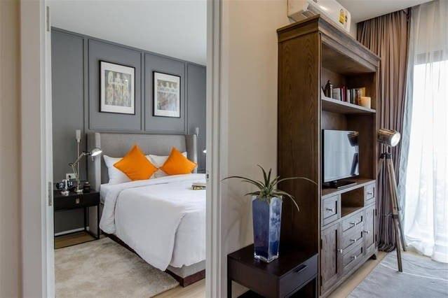 BEST DLUX Condo w/Kitchen 6 อพาร์ตเมนต์ 1 ห้องนอน 1 ห้องน้ำส่วนตัว ขนาด 33 ตร.ม. – ฉลอง