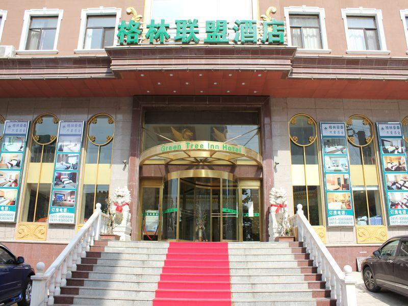 dalian central plaza in china  asia