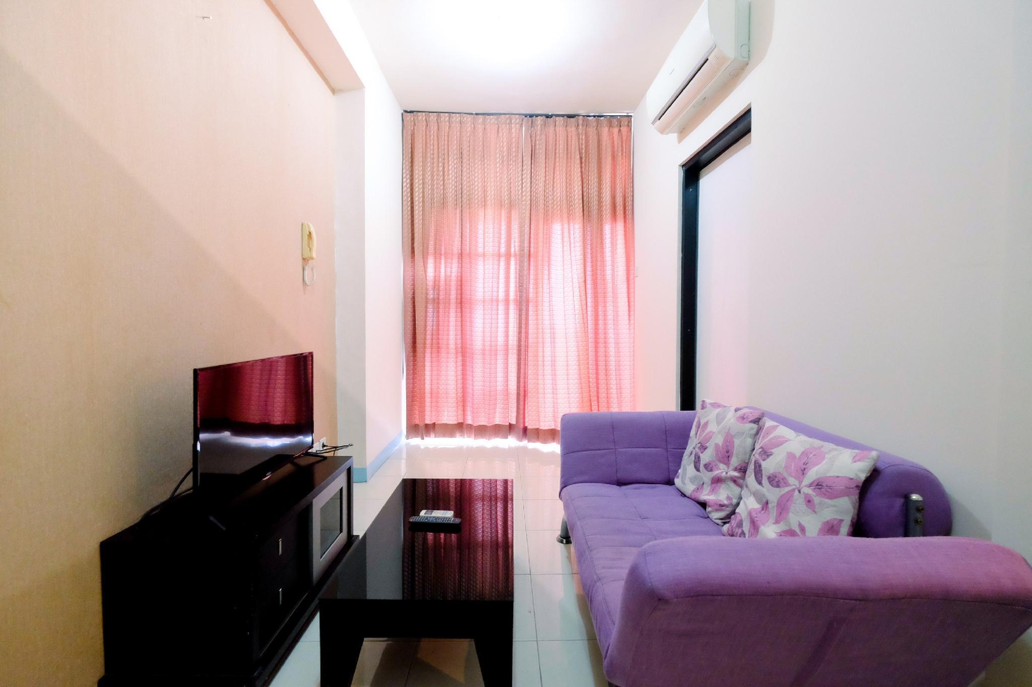 Homey Studio Apt @ Salemba Residence By Travelio