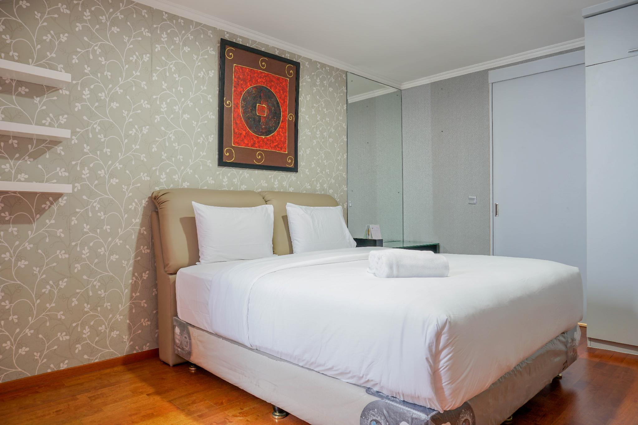 Best View 1BR Ancol Mansion Apartment By Travelio