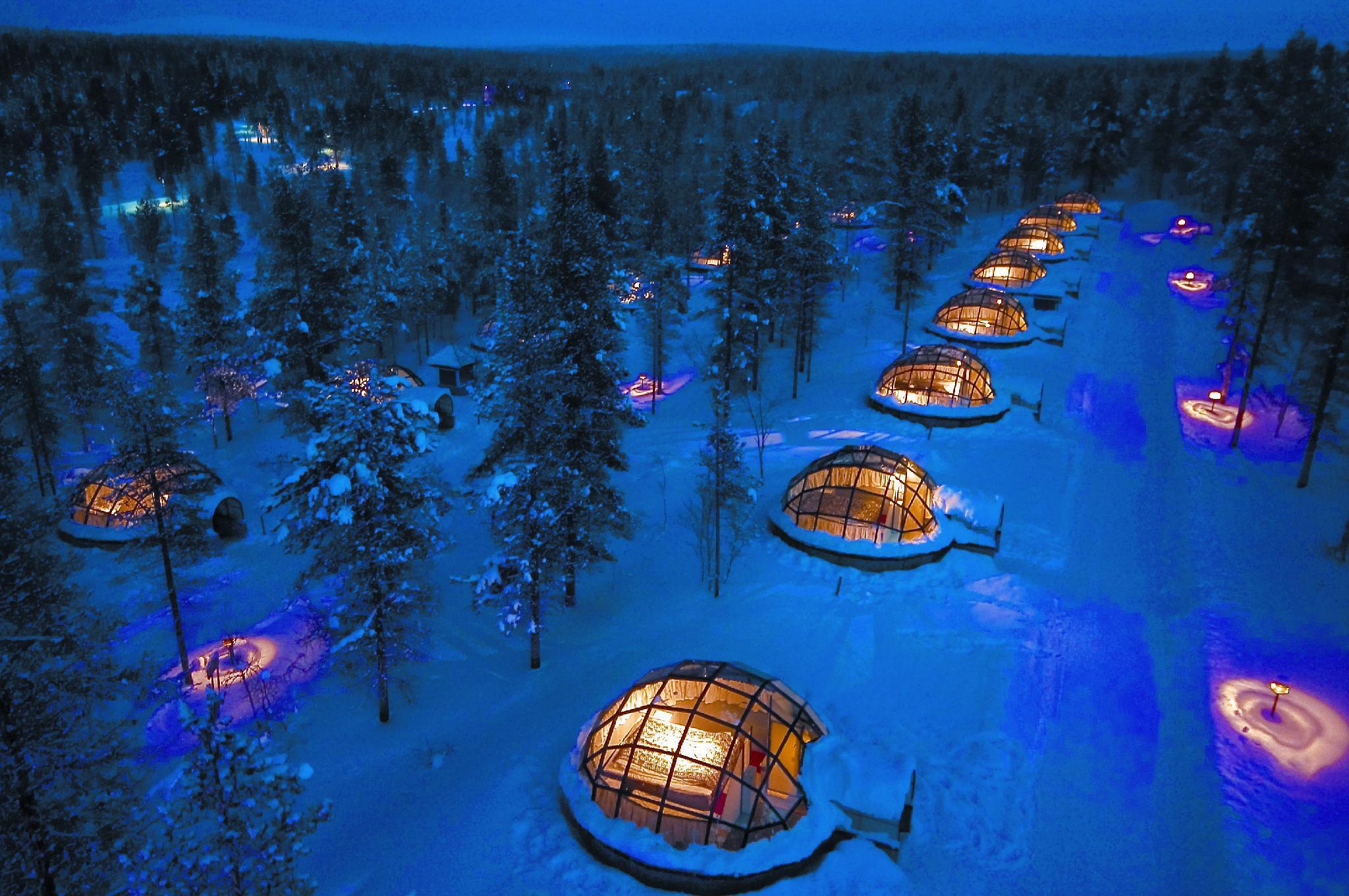 Kakslauttanen Arctic Resort   Igloos And Chalets