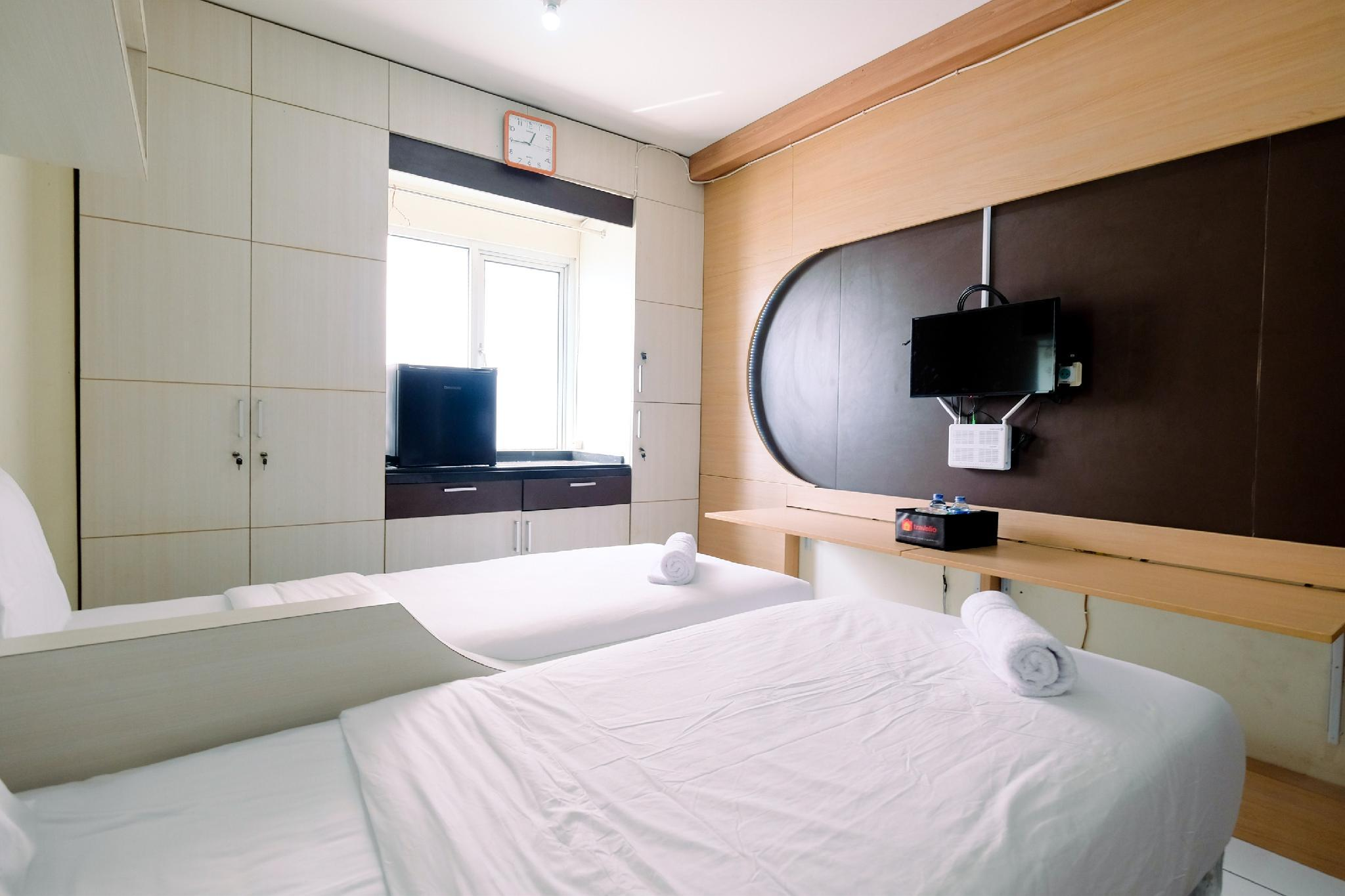 East Park Studio Apt With Twin Beds By Travelio