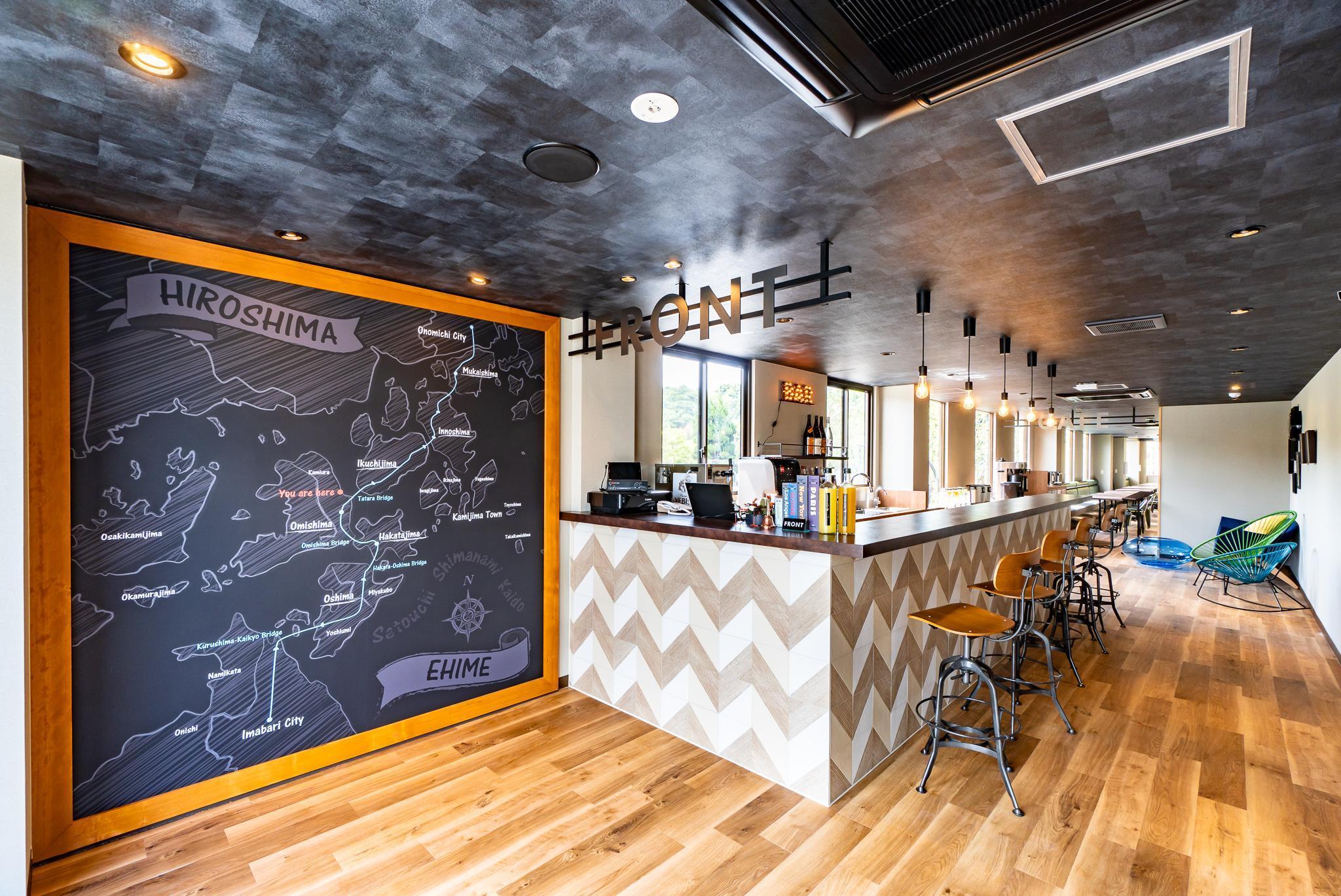 Ikidane Cyclist Hostel And Cafe Shimanami