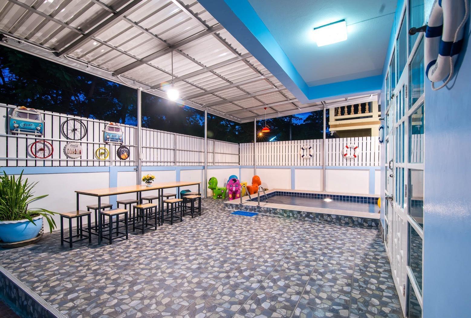 บ้านพักชะอำ My Son พูลวิลล่า ห่างหาดชะอำ 50 เมตร วิลลา 4 ห้องนอน 3 ห้องน้ำส่วนตัว ขนาด 400 ตร.ม. – ชายหาดชะอำ