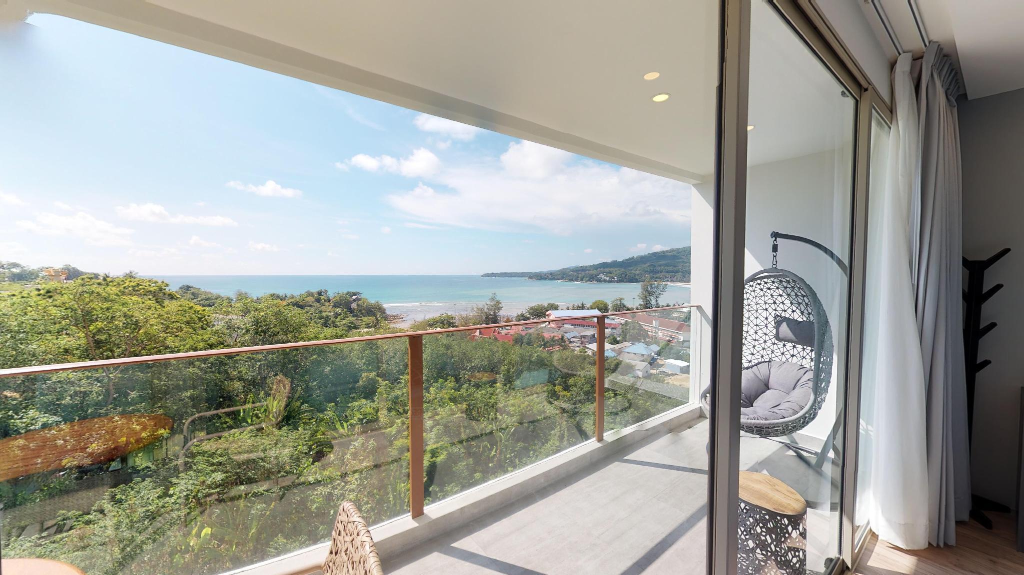 2 Bed SEA VIEW Apartment Close to beach - B66 อพาร์ตเมนต์ 2 ห้องนอน 2 ห้องน้ำส่วนตัว ขนาด 76 ตร.ม. – กมลา