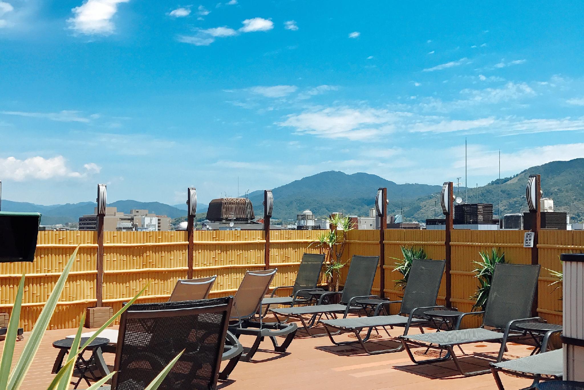 Sauna & Capsule Hotel Rumor Plaza  Male Only    Sky Open air Bath