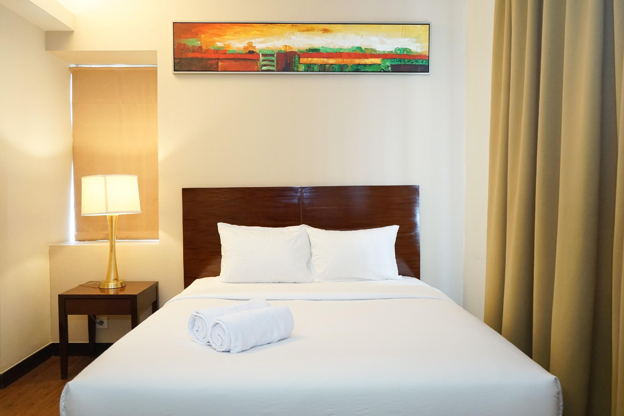 Great 1BR @ Ancol Marina Apartment By Travelio