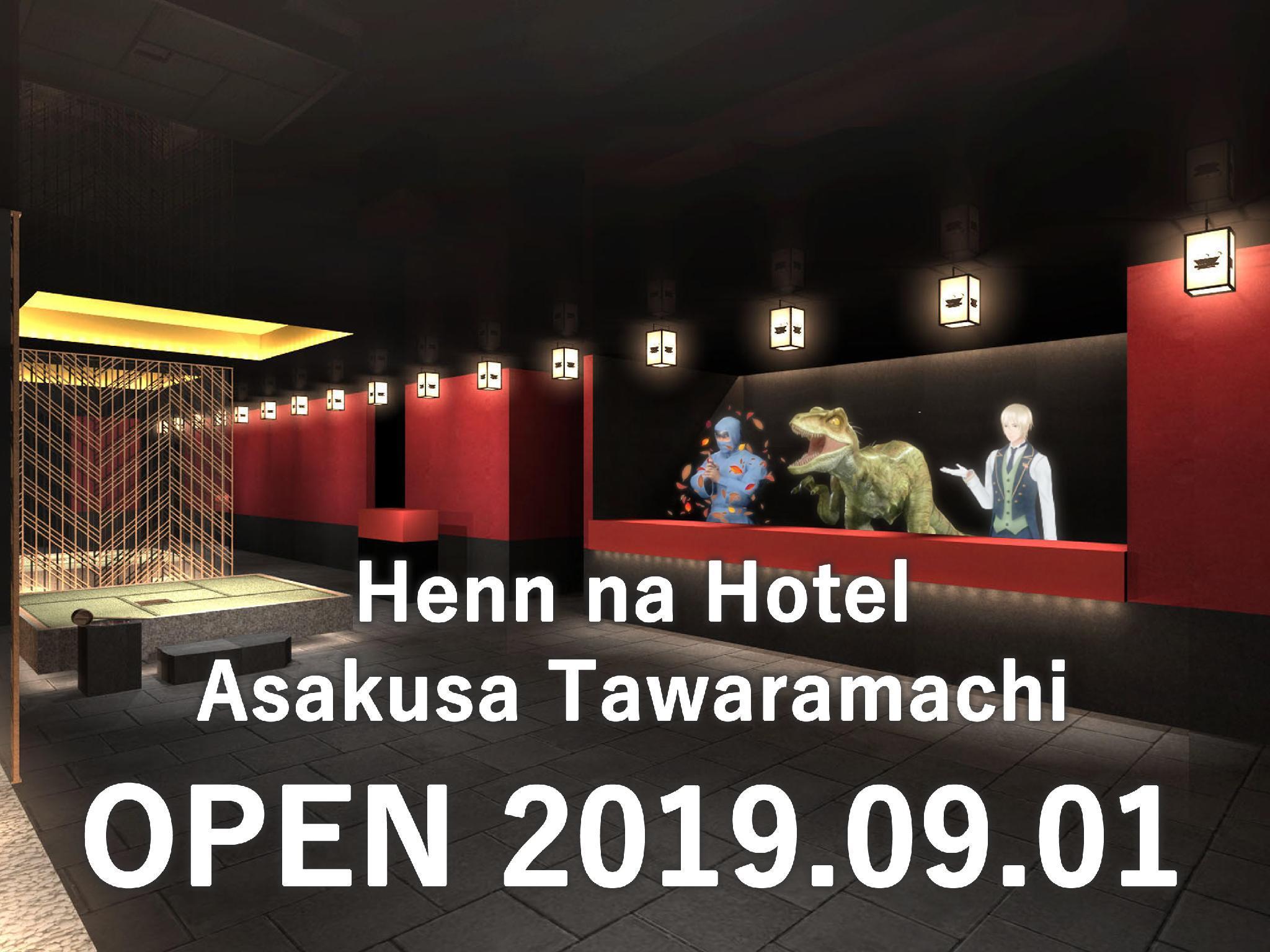 Henn Na Hotel Tokyo Asakusa Tawaramachi