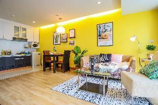 [スクンビット]アパートメント(60m2)  1ベッドルーム/1バスルーム [hiii]Morning Dew@Shuttle To BTS ThongLo-BKK159
