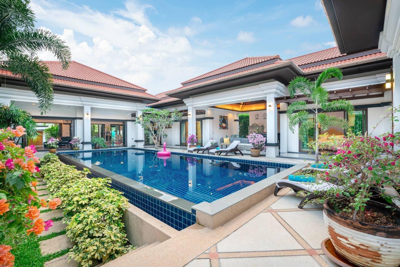 Luxury Private Pool Villa Gelsomino Phuket วิลลา 4 ห้องนอน 4 ห้องน้ำส่วนตัว ขนาด 540 ตร.ม. – บางเทา