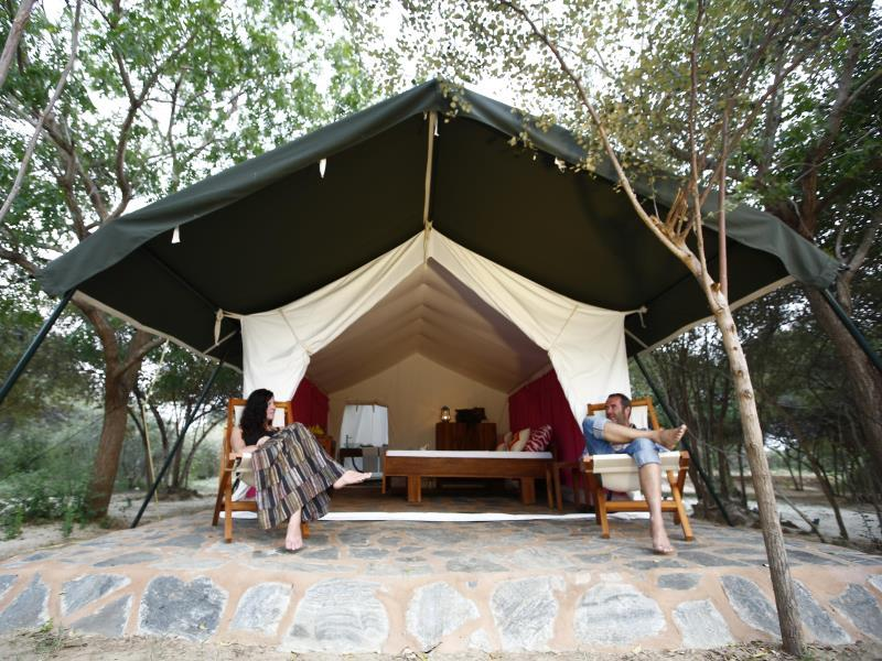 The Naturalist Luxury Tents
