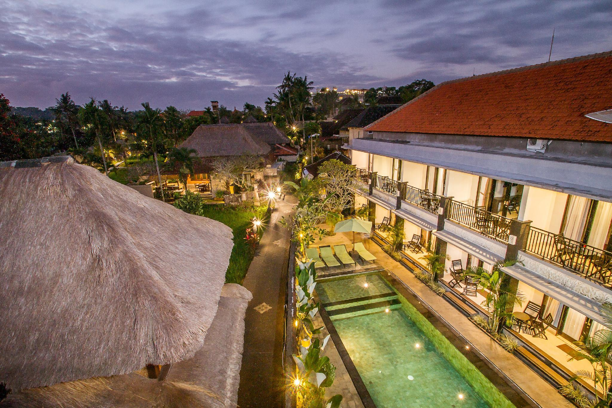 Rice Field View Comfy Deluxe Room Ubud Central