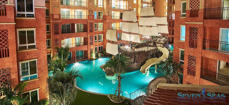 2 Bed Room Pattaya Seven Seas Condo  A42