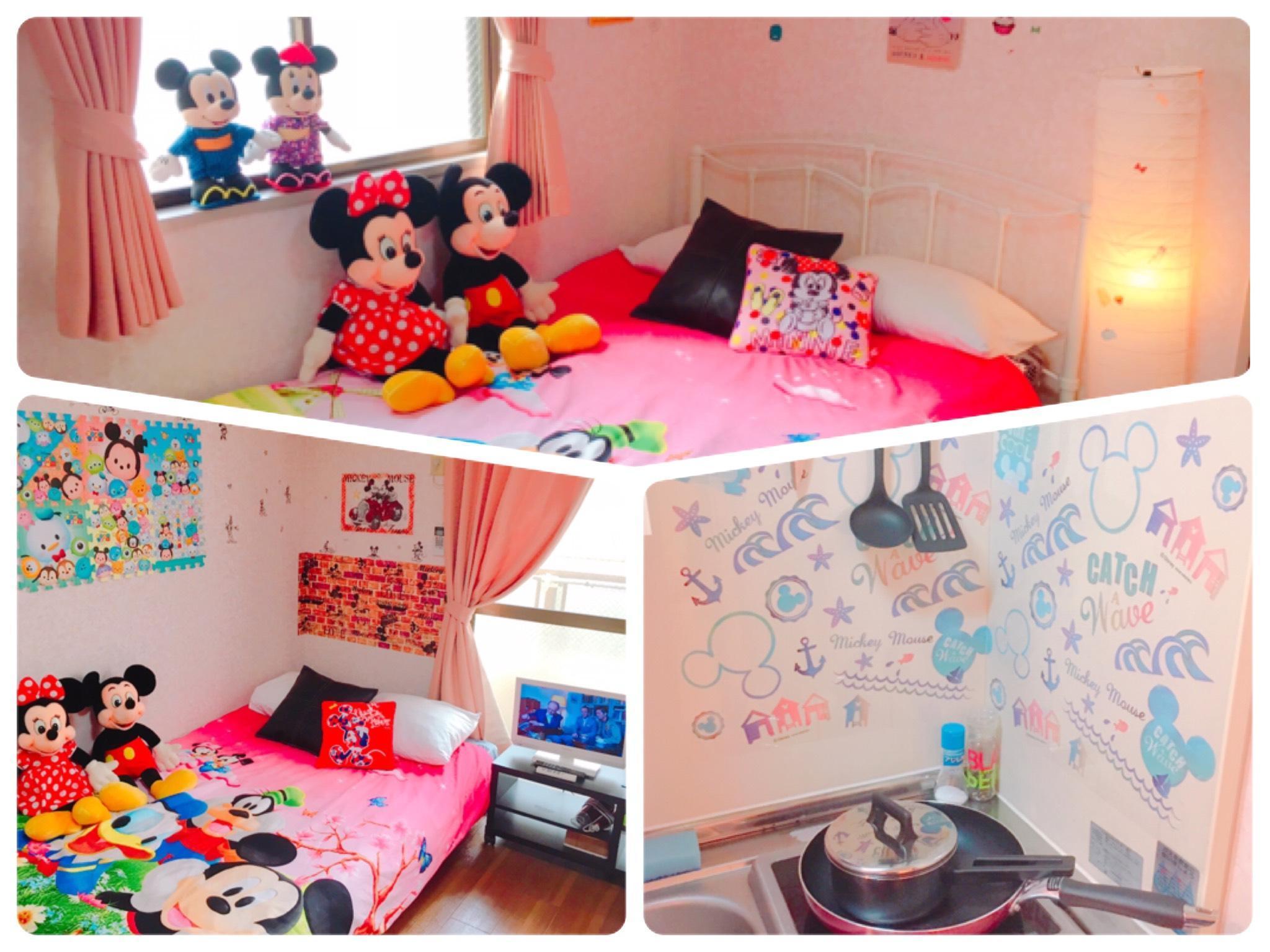 45=Cute Room.Free WiFi.5min Walk JR Namba