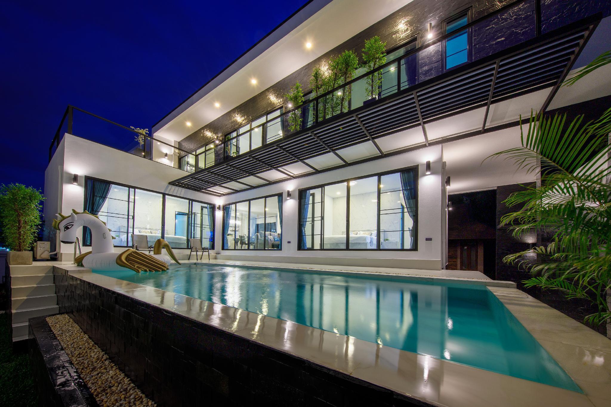 The Lux Modern Pool Villa   Free Breakfast