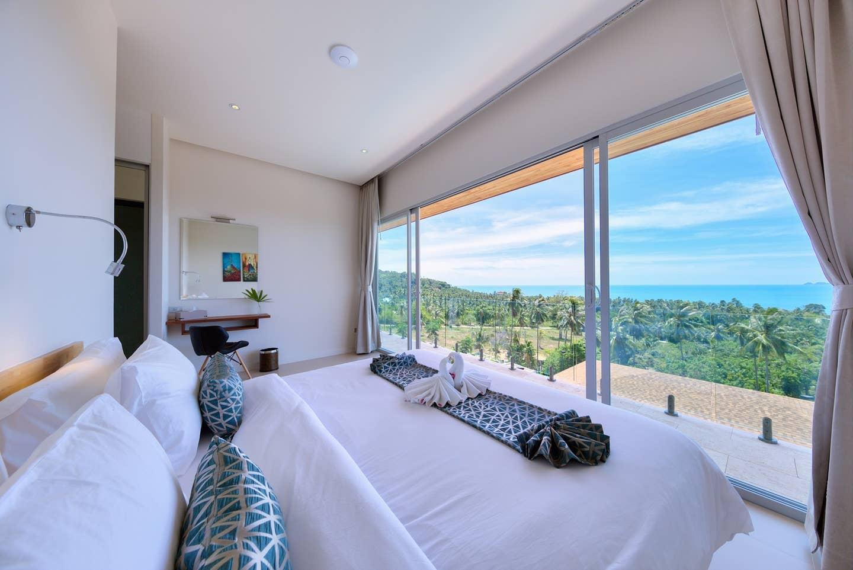 Villa Daisy - Luxury 3 Bedroom Sea View Villa วิลลา 3 ห้องนอน 3 ห้องน้ำส่วนตัว ขนาด 100 ตร.ม. – บางปอ