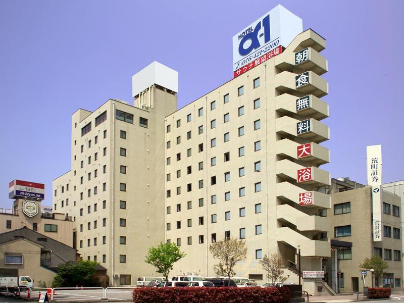 Hotel Alpha One Toyama Aramachi