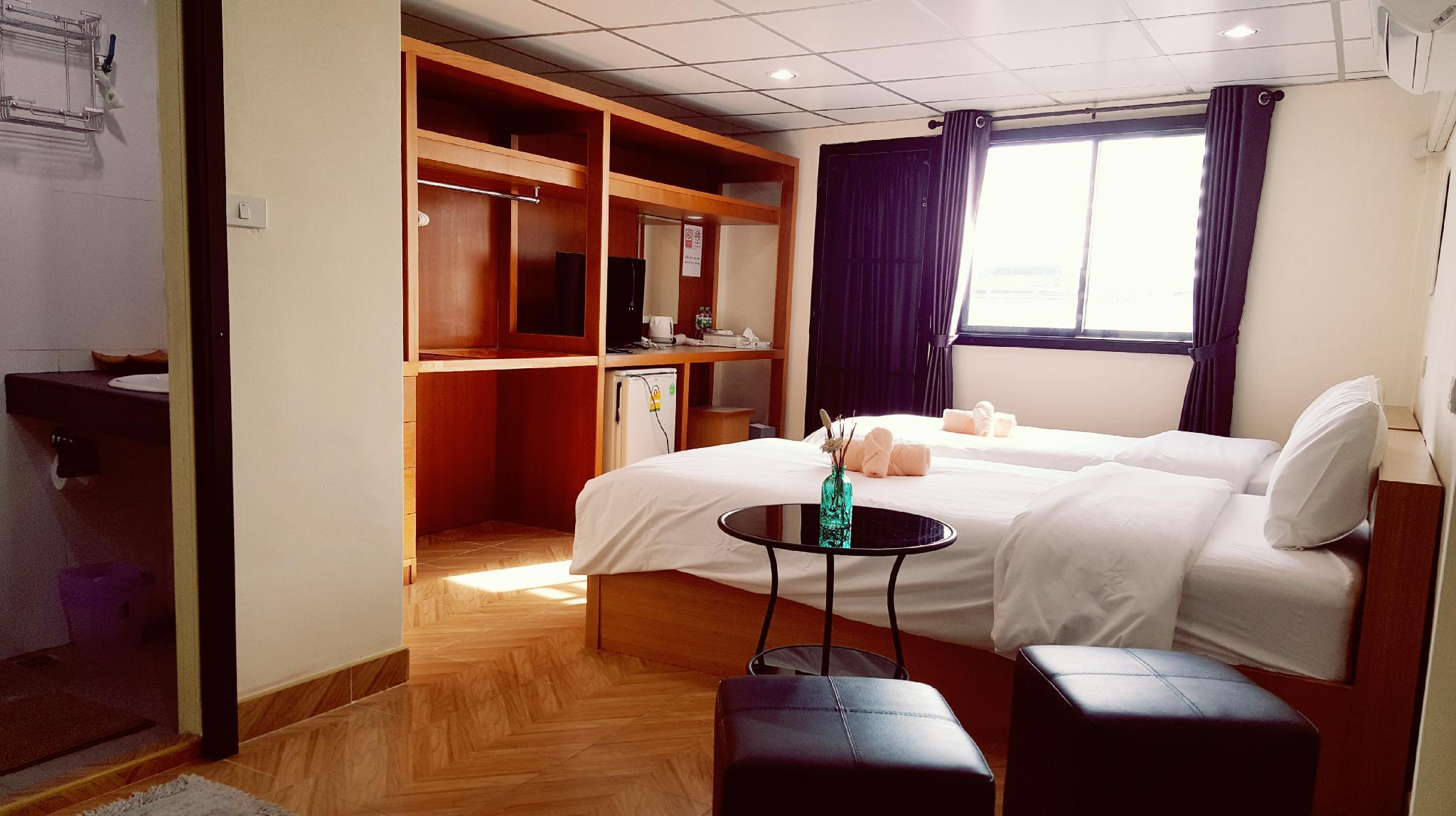 Double D (  Superior Twin Room) อพาร์ตเมนต์ 1 ห้องนอน 1 ห้องน้ำส่วนตัว ขนาด 90 ตร.ม. – ธนบุรี