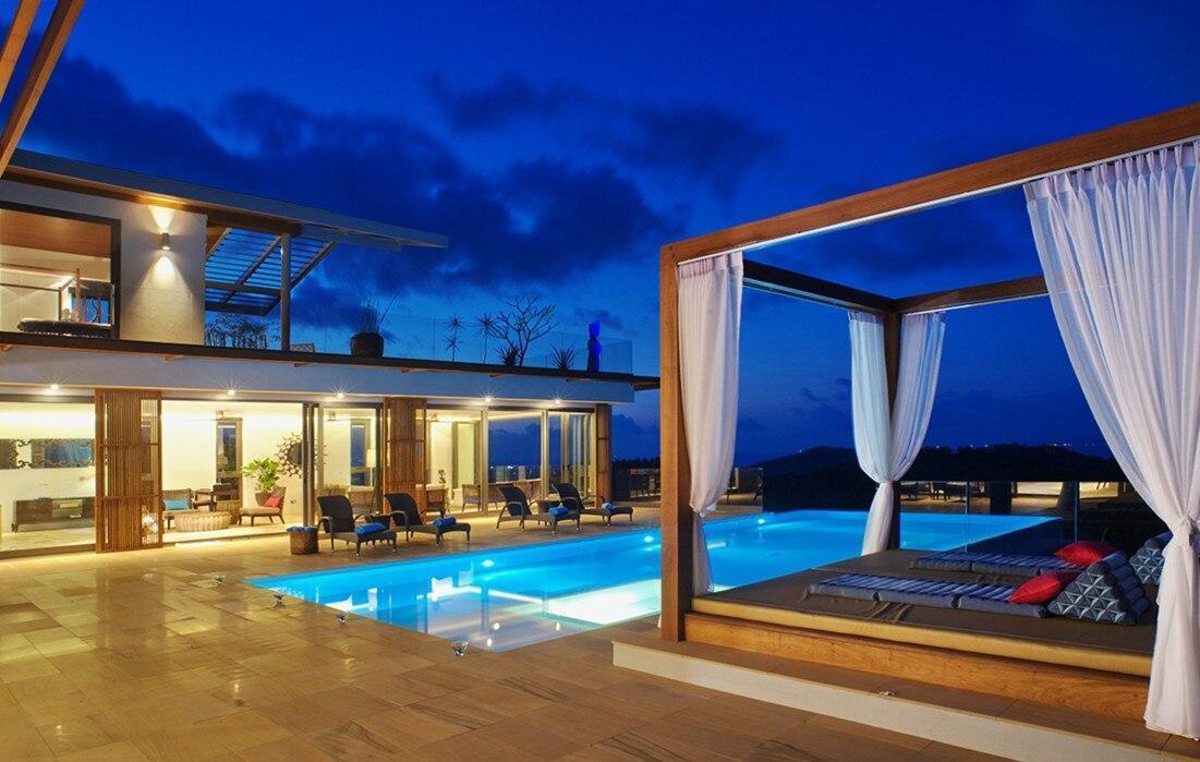6 Bedroom Villa Sea Blue - 5 star with staff วิลลา 6 ห้องนอน 6 ห้องน้ำส่วนตัว ขนาด 300 ตร.ม. – หาดบ่อผุด