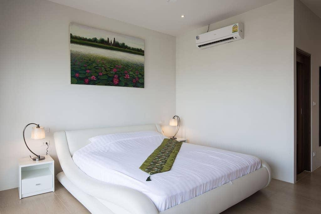 4 Bedroom Seaview 5 mins to beach (PJ) วิลลา 4 ห้องนอน 4 ห้องน้ำส่วนตัว ขนาด 400 ตร.ม. – เชิงมน