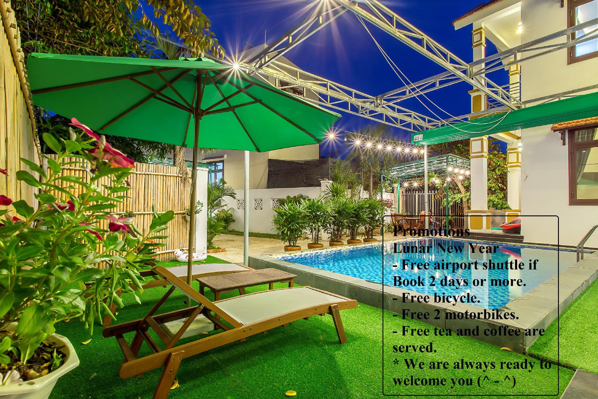 Greenery Garden Villa With Private Pool