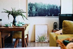 [チャアム ビーチフロント]アパートメント(40m2)| 1ベッドルーム/1バスルーム Rain Chaam Huahin Tropical Green By Supapat
