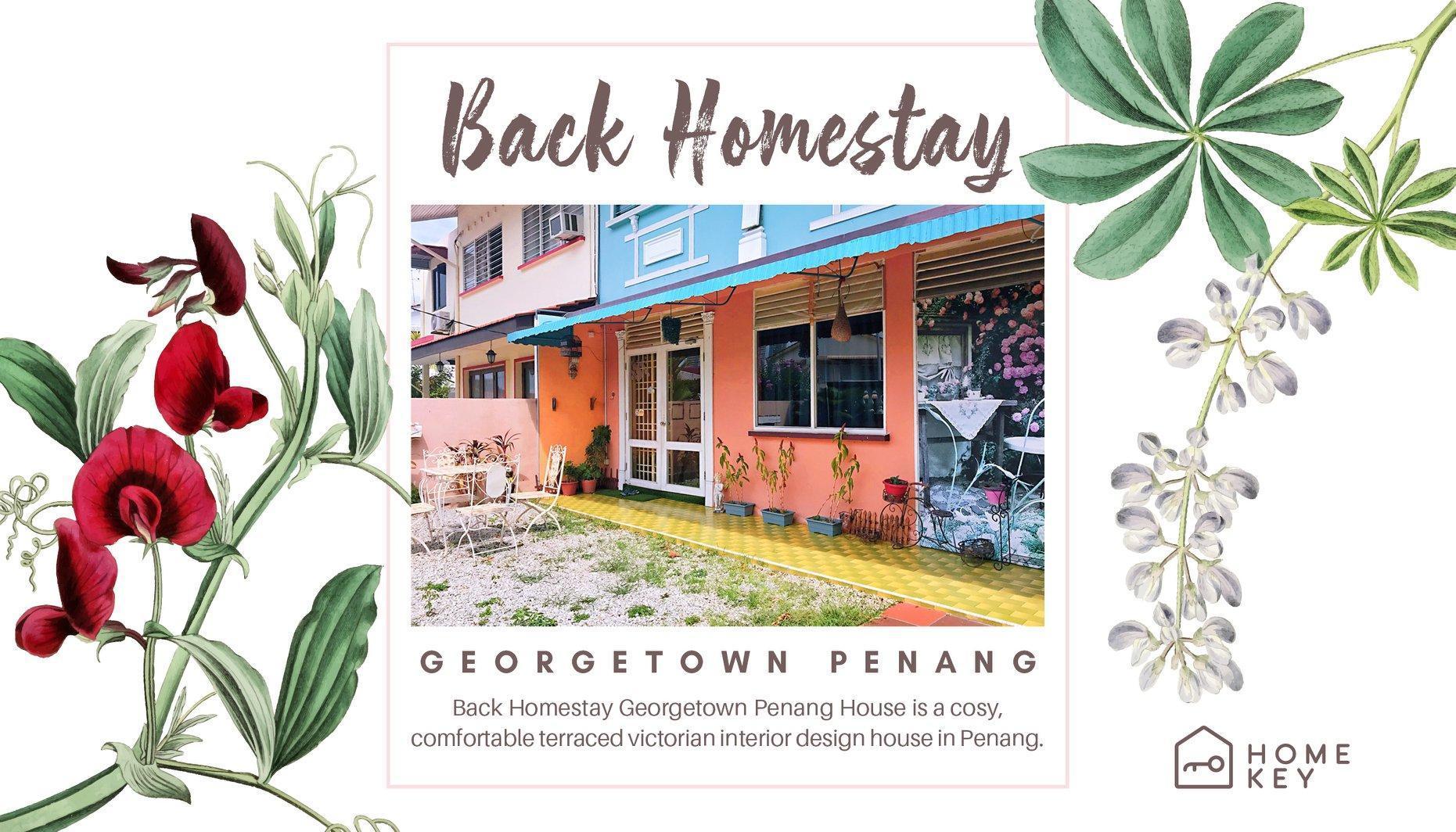 Modern Victorian Back Homestay Georgetown Penang