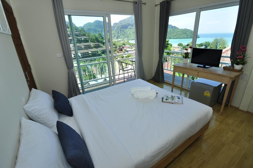 Amazing Family Ocean View for 4 อพาร์ตเมนต์ 2 ห้องนอน 2 ห้องน้ำส่วนตัว ขนาด 26 ตร.ม. – อ่าวโละดาลัม