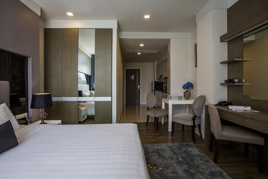 Modern Studio Apartment, Soi 39 Sukhumvit อพาร์ตเมนต์ 1 ห้องนอน 1 ห้องน้ำส่วนตัว ขนาด 50 ตร.ม. – สุขุมวิท