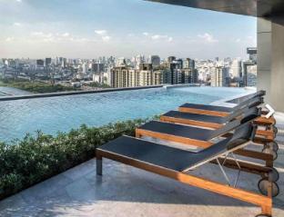 Cozy Room with King Size High Floor/MRT/ARL อพาร์ตเมนต์ 1 ห้องนอน 1 ห้องน้ำส่วนตัว ขนาด 35 ตร.ม. – สุขุมวิท