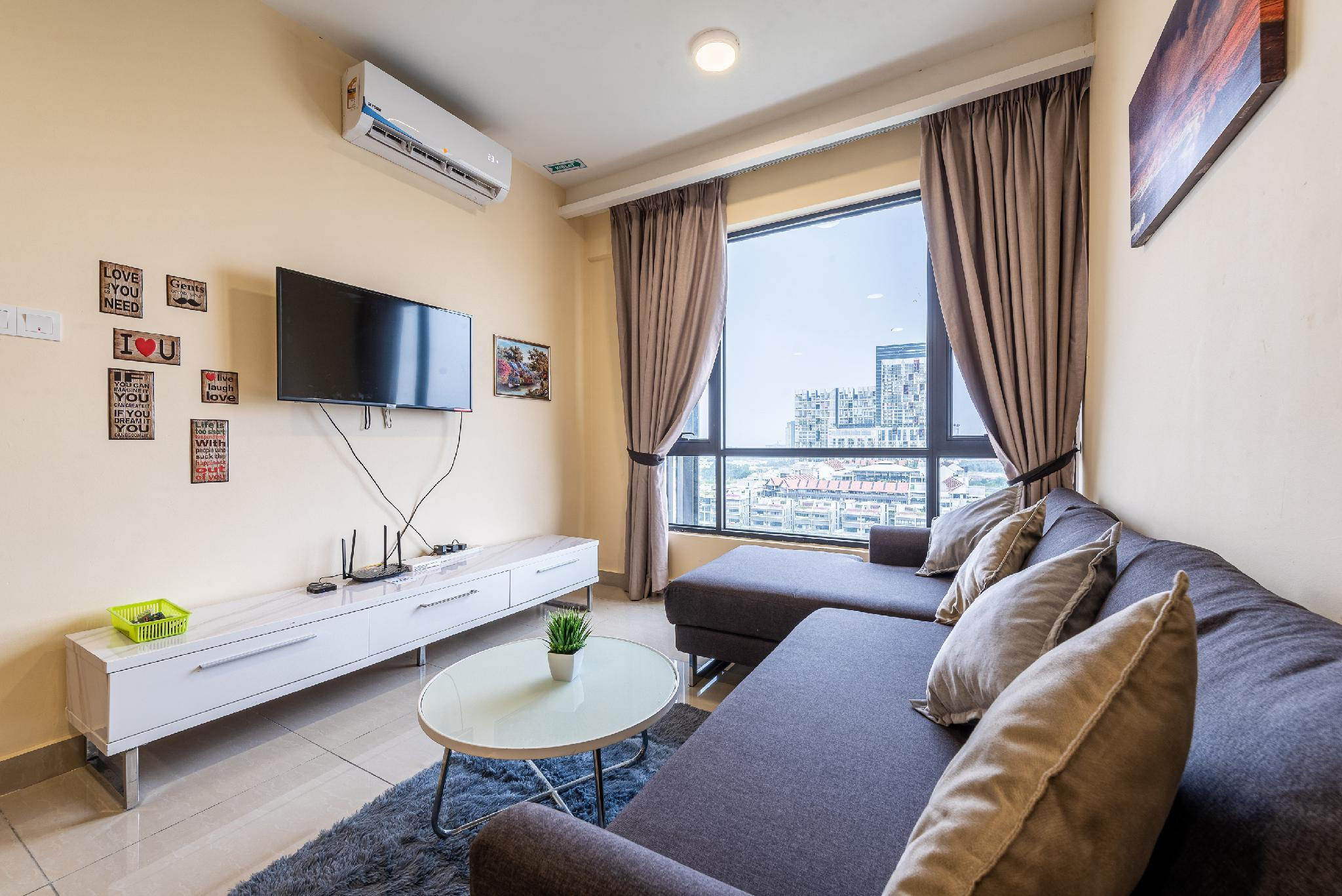 2R2B For 5 Guests Eclipse Deluxe Apartment