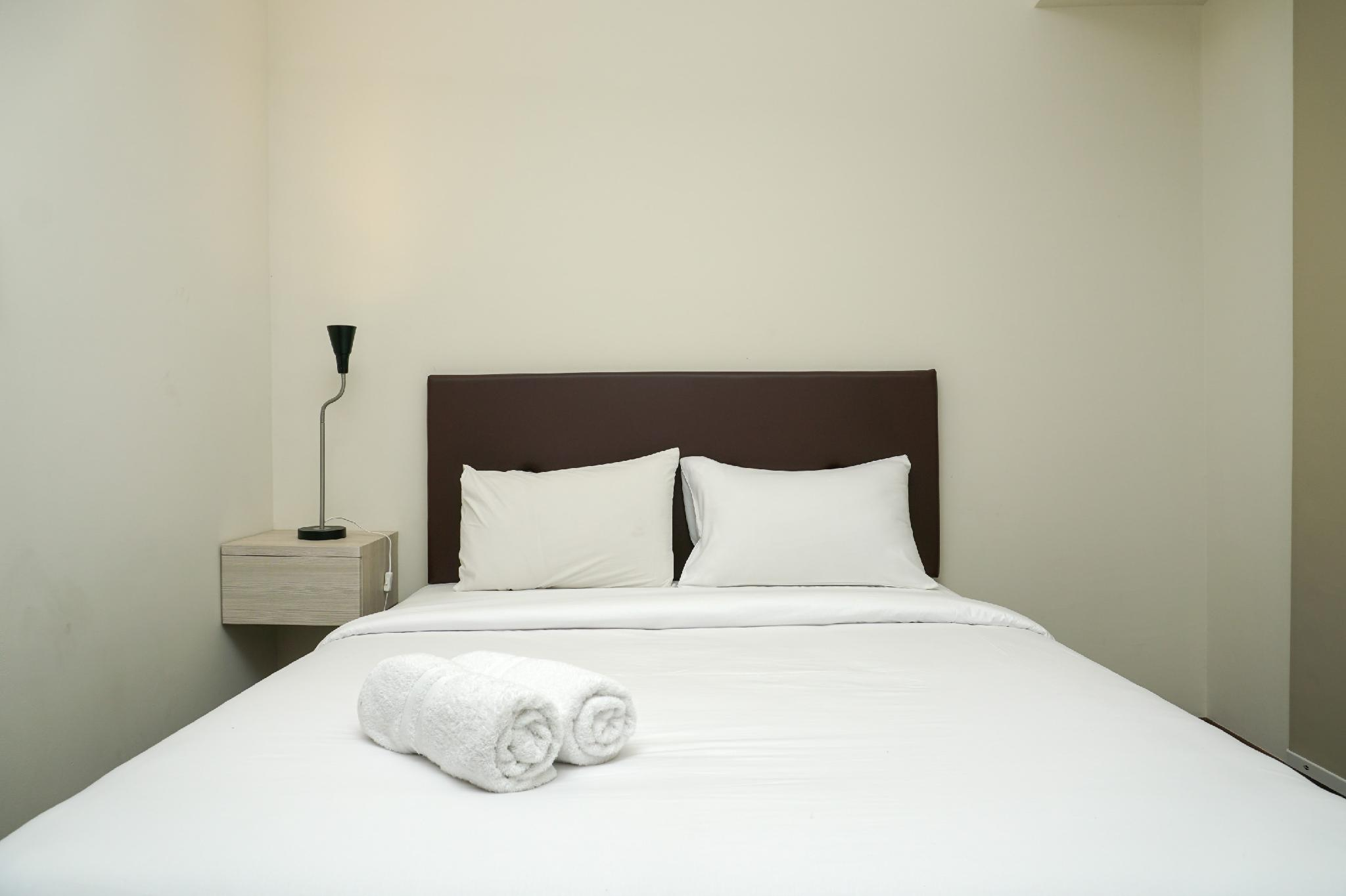 Furnished Studio With Pool View At Puri Orchard Apartment By Travelio