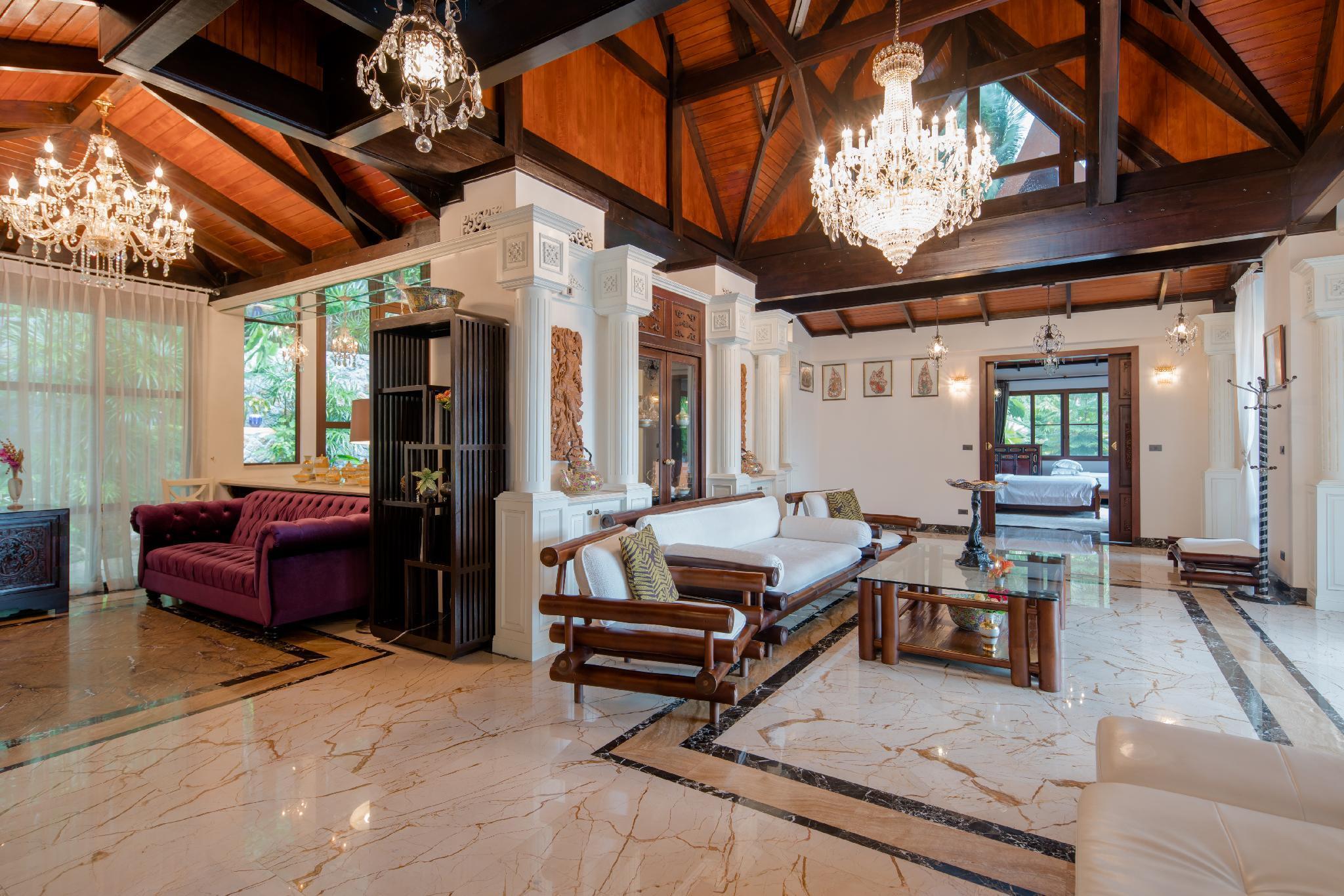 Ayara Hilltops 4BR Luxury Seaview Villa At Surin