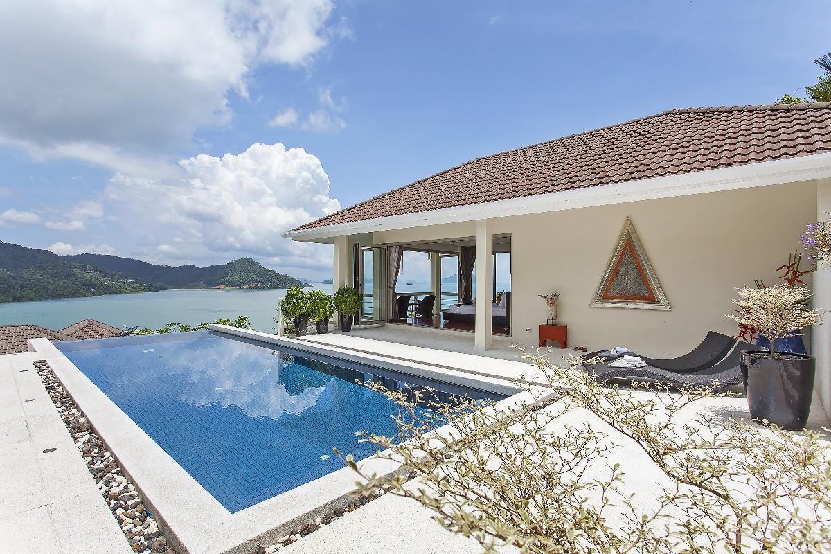 Grand Paradise Villa 5BR   Infinity Pool&Breakfast วิลลา 5 ห้องนอน 6 ห้องน้ำส่วนตัว ขนาด 1400 ตร.ม. – อ่าวปอ/โบ๊ท ลากูน