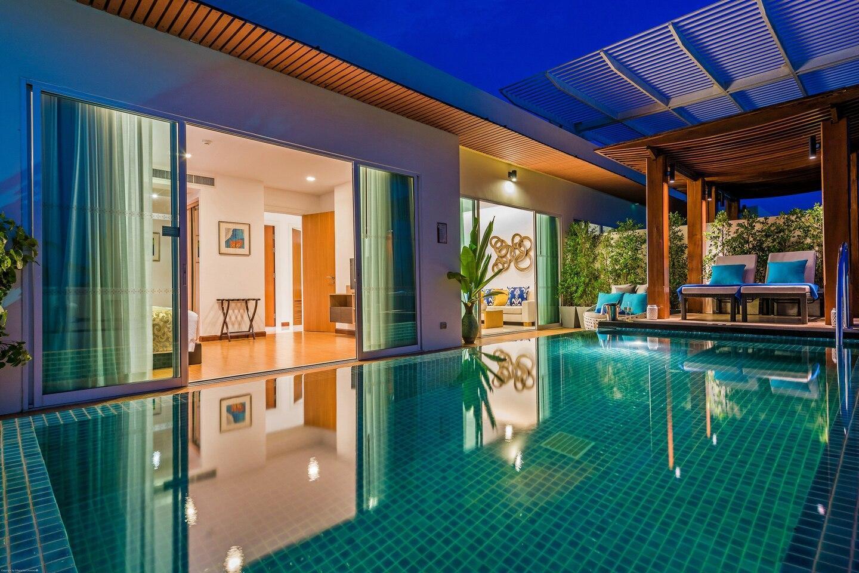 Deluxe Two Bedroom Pool Suite