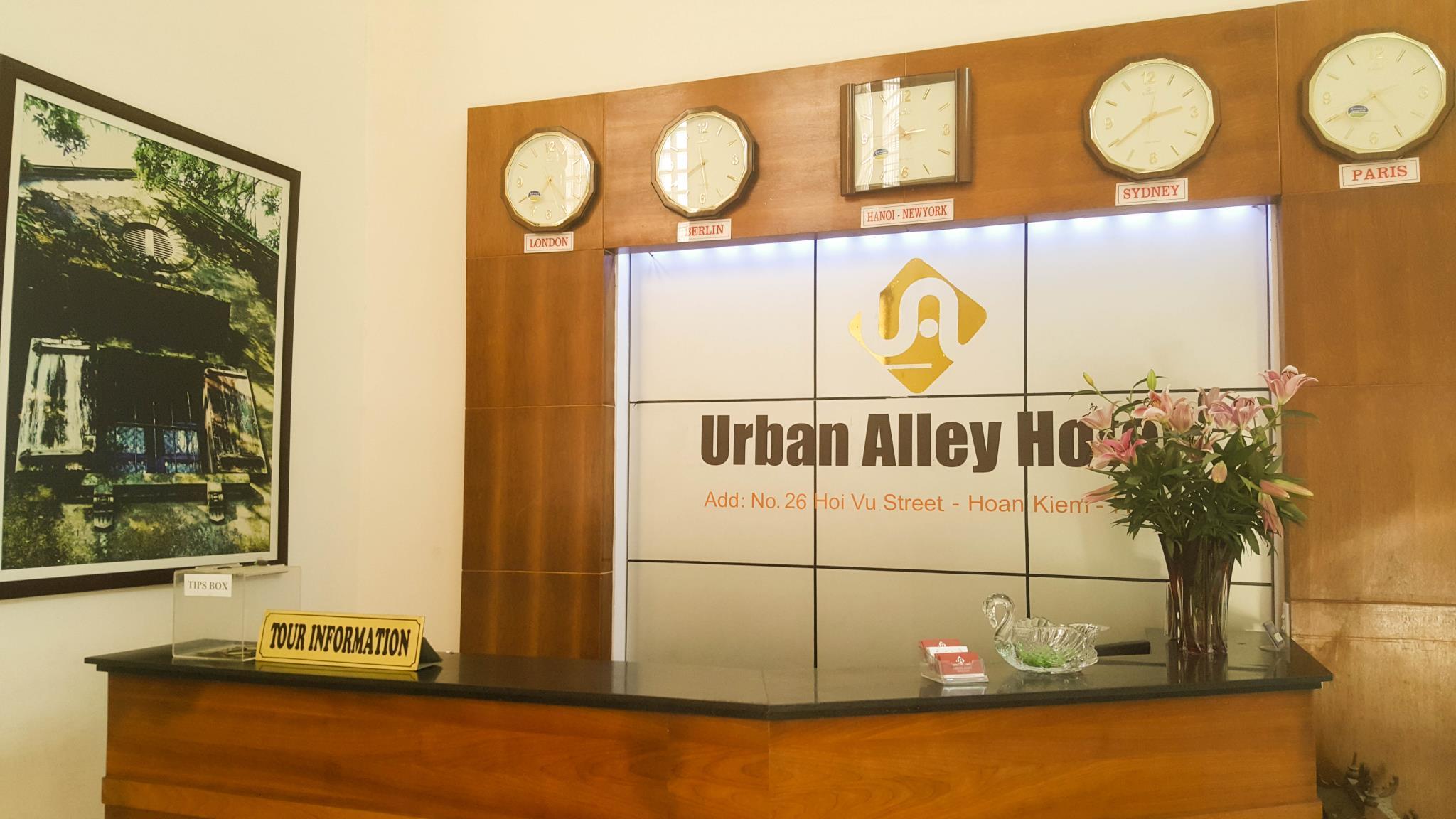Urban Alley Hotel
