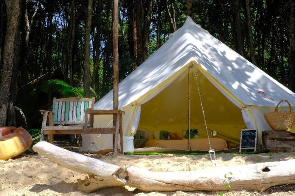 O Little Tent de Koh Chang Ranong