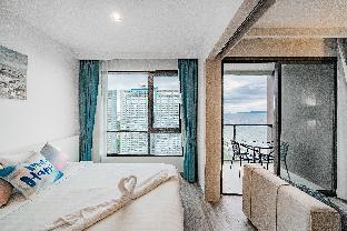 Pattaya Aeras beach facing with infinitypool อพาร์ตเมนต์ 1 ห้องนอน 1 ห้องน้ำส่วนตัว ขนาด 35 ตร.ม. – หาดจอมเทียน
