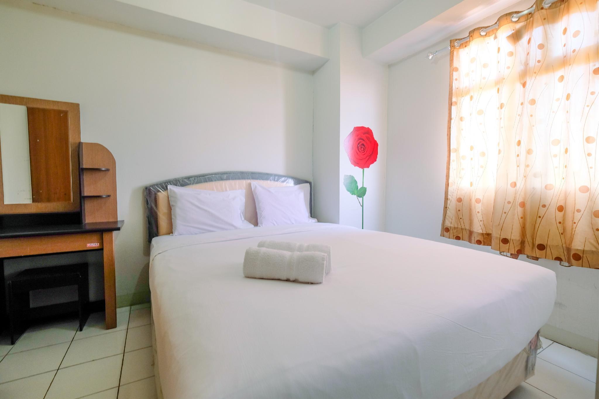 Tranquil 2BR @ Kalibata City Apartment By Travelio