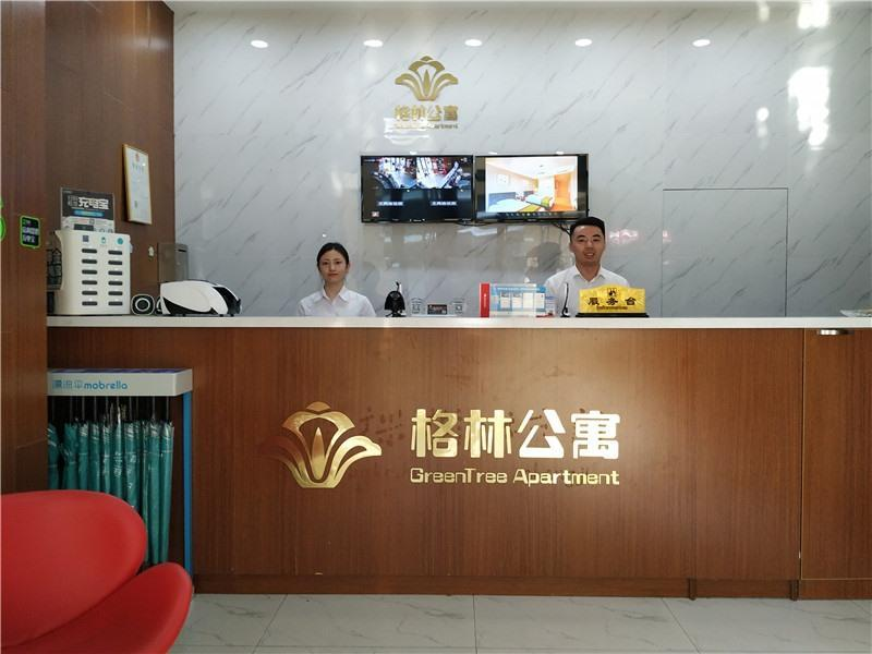GreenTree Apartment Nanjing South Railway Station South Square