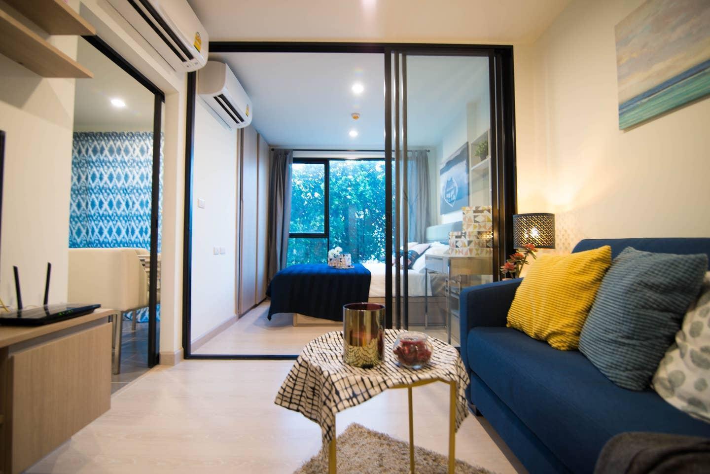 Exquisite Art and One-Bedroom Apartment อพาร์ตเมนต์ 1 ห้องนอน 1 ห้องน้ำส่วนตัว ขนาด 30 ตร.ม. – สุขุมวิท