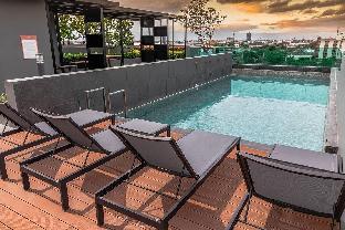 [バーンナー]ヴィラ(30m2)| 1ベッドルーム/1バスルーム swimming pool and gym , near BTS PuChao,bkbloft2