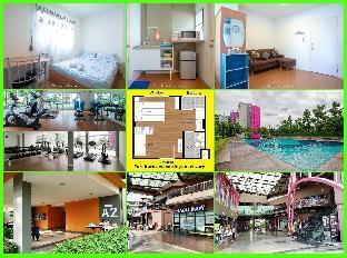 [ドンムアン空港]アパートメント(21m2)| 1ベッドルーム/1バスルーム Family Apartment  My Home In Bangkok A7/113