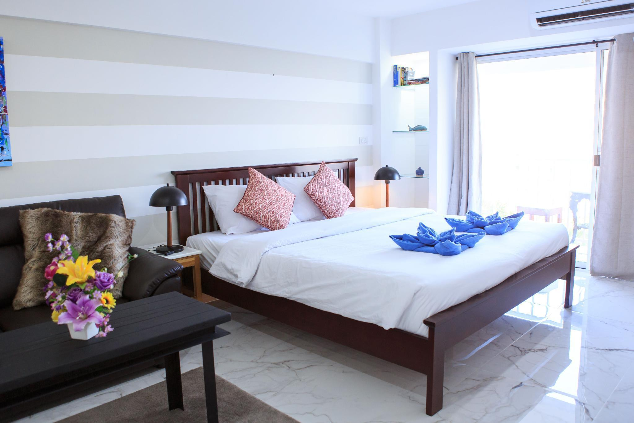 Bright & Modern Couples Retreat w/Amazing Views สตูดิโอ อพาร์ตเมนต์ 1 ห้องน้ำส่วนตัว ขนาด 37 ตร.ม. – นิมมานเหมินทร์
