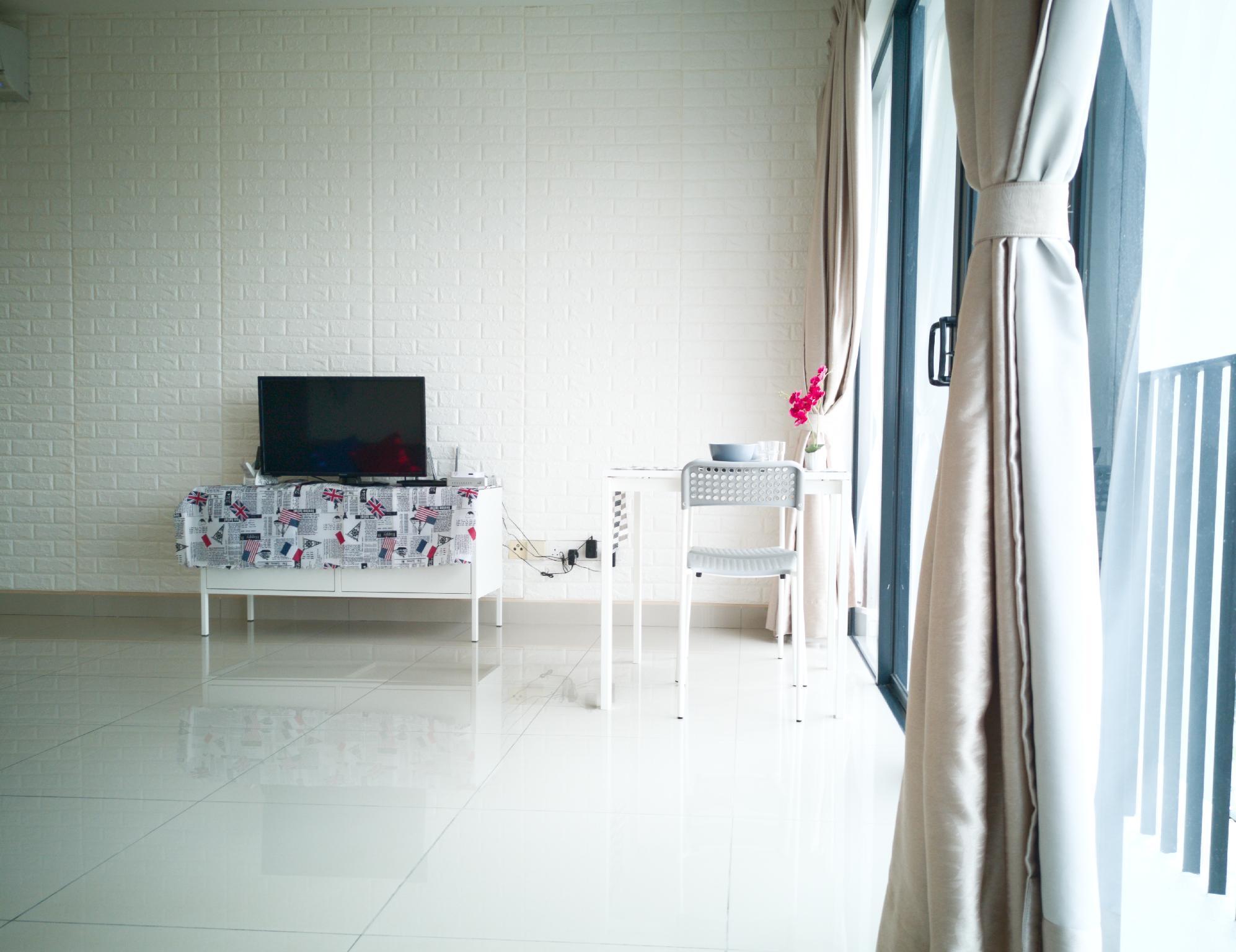 Simple Cozy Sweet Home Near Setia City