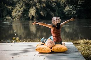 [ワンドン]ヴィラ(60m2)| 1ベッドルーム/1バスルーム La Foresta by the river lodge Kanchanaburi# villa2
